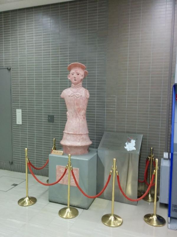 Statue in Narita.