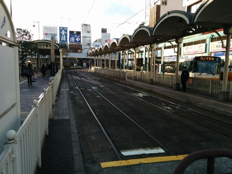 Straßenbahnstation Matsuyamashieki-mae