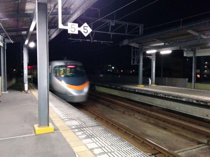 Unser Zug von außen.