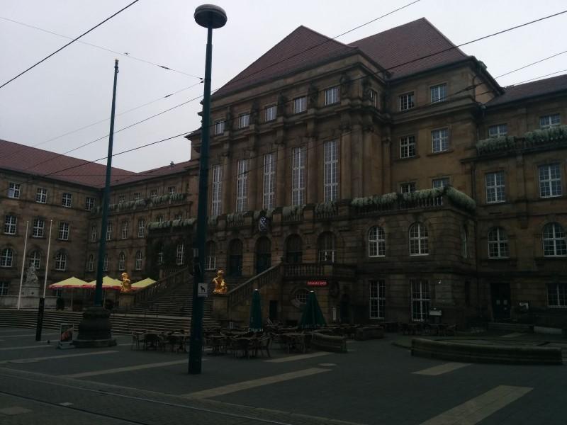 Das prächtige Kassler Rathaus