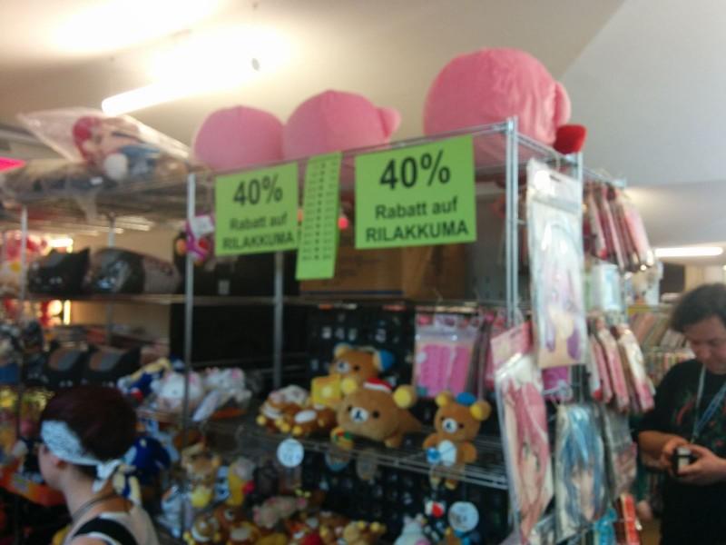 Obwohl es 40% Rabatt gab kaufte ich kein Rilakkuma :(