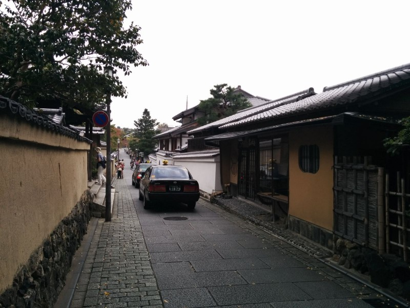 Higashiyama Taxi District.