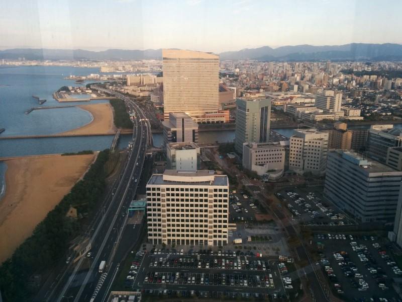 Fukuoka von oben.