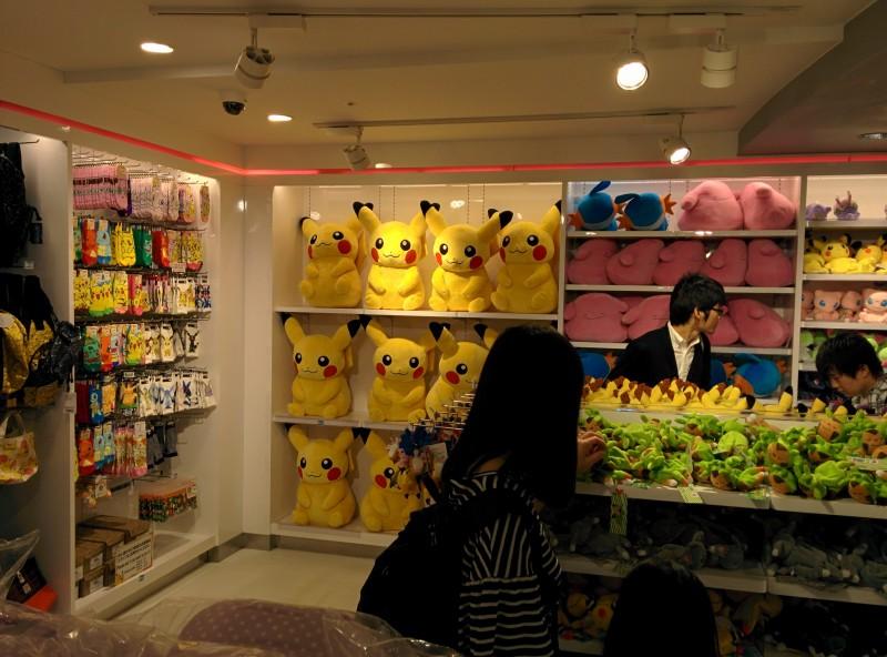 Pikachus usw.