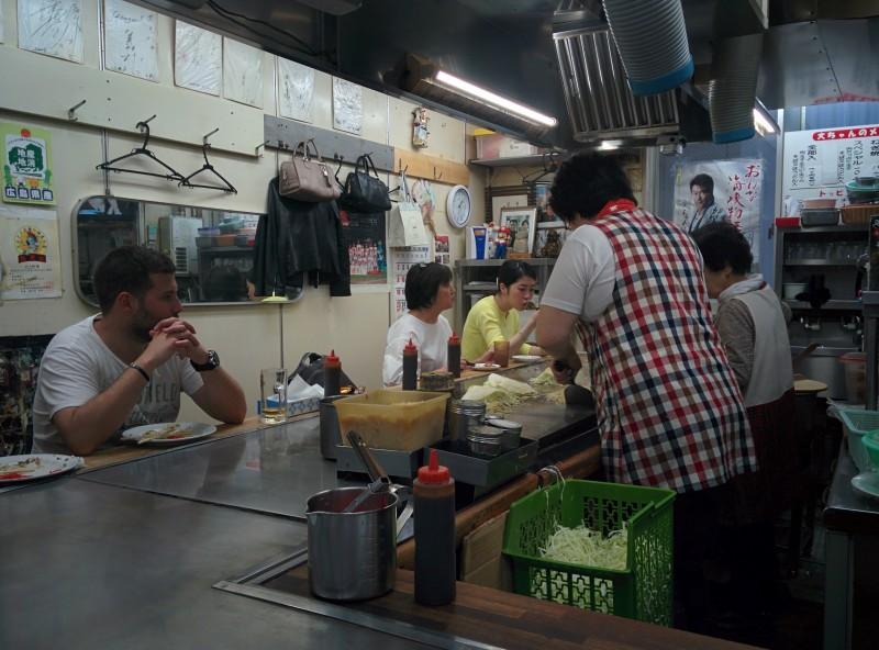 Okonomiyaki-Laden